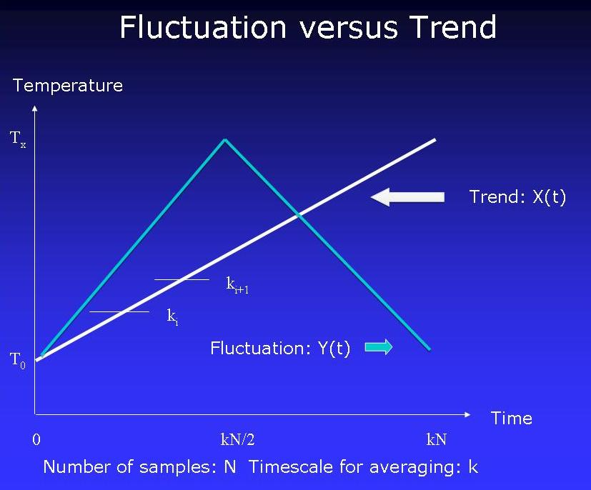 trend and fluctuation